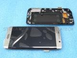 Pantalla del LCD del teléfono móvil para la pantalla del borde de Samsung S6 completa