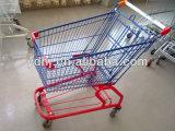 Американская вагонетка покупкы супермаркета