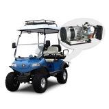 Carrello/Buggy elettrici, soffitto con il cestino ibrido e (colore rosso di DEL2022D2Z, 4-Seater)