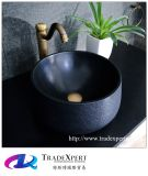 Lavabo modèle de main de partie supérieure du comptoir de salle de bains de granit de nature
