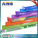 Pulseras médicas de papel pasivas del PVC RFID