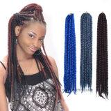 Estensioni Braided dei capelli della parrucca dell'Africa della grande molla nera della treccia