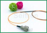 divisor fundido conector del acoplador FC/Upc de la fibra del solo modo de 1X2 1550nm