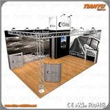 Напольный алюминий рекламируя будочку ферменной конструкции торговой выставки