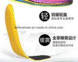 新しいデザイン通気性の柔らかいバスケットボールの連続したスポーツは蹄鉄を打つ靴の中敷(FF627-3)に