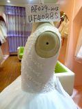 Девушка отбортовывая платье венчания UF4088s Flowergirl платья
