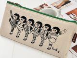 Sac de couture mignon de papeterie de sac de crayon de sac de crayon lecteur