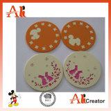 Coaster personalizado do projeto para presentes