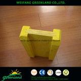 Madera de pino color amarillo H20 Madera de viga