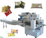 Pesaje y Almohada de Cine de la máquina de embalaje para las galletas, galletas, chocolate