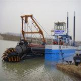 砂の掘削のためのKx200浚渫船
