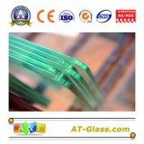 3-19mm profunda transformación vidrio templado transparente / vidrio endurecido con el borde pulido utilizados para la construcción, muebles