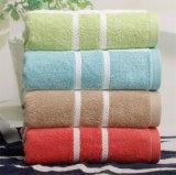 Do algodão Y/D da listra de banho de toalha toalha 100% de praia macia