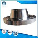 熱い鍛造材CNC機械化の半仕上げ弁カバーフランジ