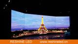 Binnen Openlucht Vaste Gebogen/de Ronde installeert het LEIDENE van de Huur Scherm van de VideoVertoning/Comité/Teken/Muur