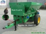 Entraîneur d'écarteur d'écarteur de baisse d'engrais de pelouse de machine de cordon de ferme Remorquer-Derrière l'écarteur d'engrais