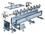 Convoyeur de spirale d'acier inoxydable, convoyeur de vis utilisé pour l'industrie alimentaire
