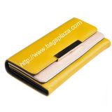 Carteiras longas do estilo das carteiras do couro da forma das mulheres da alta qualidade Wa6050