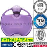 BS 투명한 PVC 더운물병