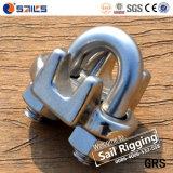 Staninless鋼鉄SS304ワイヤーロープクリップ