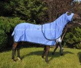 100% ensemble d'exposition de coton, feuille d'été de coton, couverture de cheval (NEW-10)