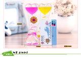 Buntes flüssiges Ölhourglass-acrylsauerspielzeug