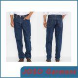 Jeans diritti del piedino del denim classico degli uomini (JC3037)