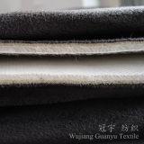 3 couches de cheveu court de support tricoté par tissu de velours pour le sofa