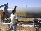 Ningún secador rotatorio del secador del estiércol de la vaca de la contaminación/del abono del pollo con capacidad de producción grande