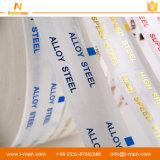 강철 방수 주문 투명한 접착성 라벨