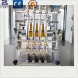 PLCは砂糖の塩のコーヒー粉の背部シーリング磨き粉の包装機械を制御する
