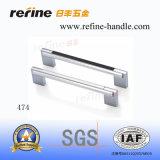Traitement en aluminium en alliage de zinc de meubles des prix chauds (T-474)