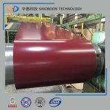 Ral5020 Prepainted гальванизированная стальная катушка с ISO9001