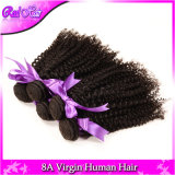 "Unprocessed 7A Aliexpress Hair 4PCS Mongolian Afro Curly Human Hair Weaves Tight Virgin Kinky Curl Extensions 8 ""-32"" Couleur naturelle"