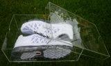 Encargo de plástico transparente de acrílico caja de zapatos (BTR-G1132)