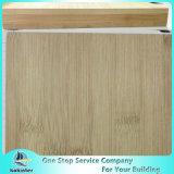 Mehrschicht11mm natürliches Rand-Korn-Bambusfurnierholz für Möbel/Worktop/Fußboden/Skateboard