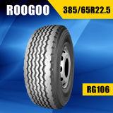 Автошины Roogoo тавр покрышки верхней части 10 для тележек 385/65r22.5