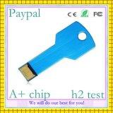 Изготовленный на заказ USB ключа компенсации Paypal логоса (GC-K001)