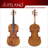 Violon solo de modèle d'antiquité de qualité supérieur de violon de violon modèle de Stradivari 1715