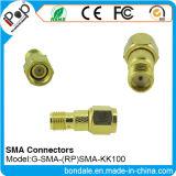Conetor coaxial dos conetores do RP SMA Kk100 para conetores de SMA