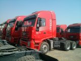 Genlyon 6X4 420HP carro del tractor de la venta caliente