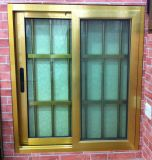 Sliding de aluminio Window con Double Glazing (CL-W1004)