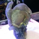 Pietra preziosa di cristallo Liard della pietra semi preziosa che intaglia statua