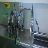 Machine de découpage faisante le coin de connecteur de commande numérique par ordinateur de guichet en aluminium