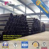 Труба API5l X52 Psl-2 Иран экспорта стальной трубы S355 ERW стальная