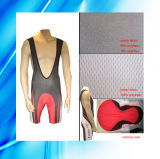 85 % Polyester 15 % Spandex Hombre Ciclismo Bib Shorts