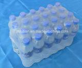 Вода бутылки выпивает запечатывание оборачивая машину упаковки