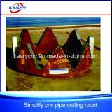 Eisen-Rohr und hohle Gefäße CNC-Plasma-Ausschnitt-Maschine