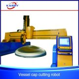 Cnc-Stahlplatten-Ausschnitt-Maschine mit Nut-Funktion