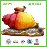 Handmade Resin Garden Snail Ornament (NF15037A)
